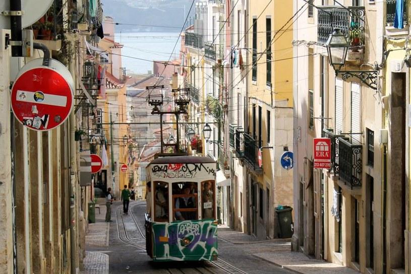 Elevador da Bica, jeden typowych dla Lizbony tramwajów-wind /INTERIA.PL