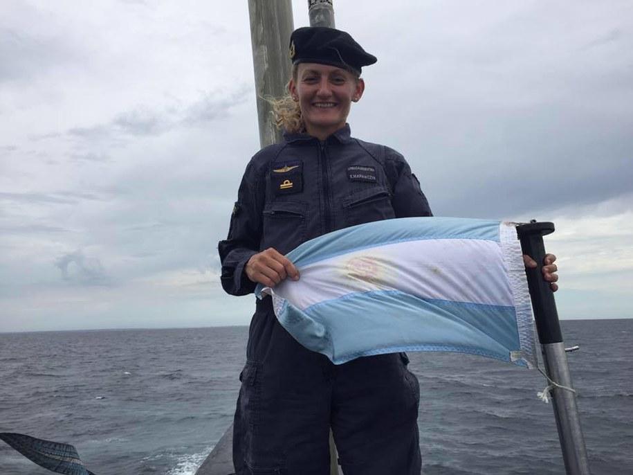 Eliana Maria Krawczyk to pierwsza kobieta oficer marynarki wojennej w całej Ameryce Południowej /foto. Eliana Krawczyk/Facebook /