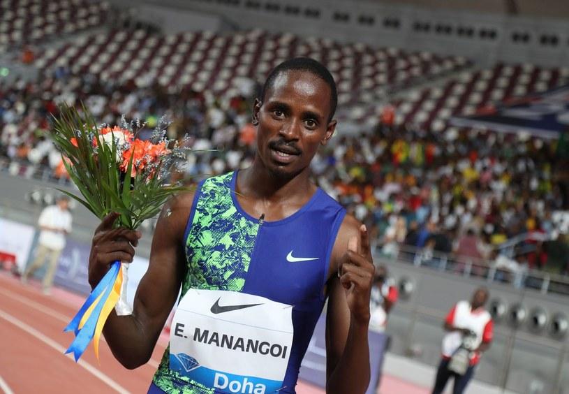 Elijah Manangoi /KARIM JAAFAR  /AFP