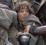 """Elijah Wood w filmie """"Władca Pierścieni: Dwie Wieże"""" /"""