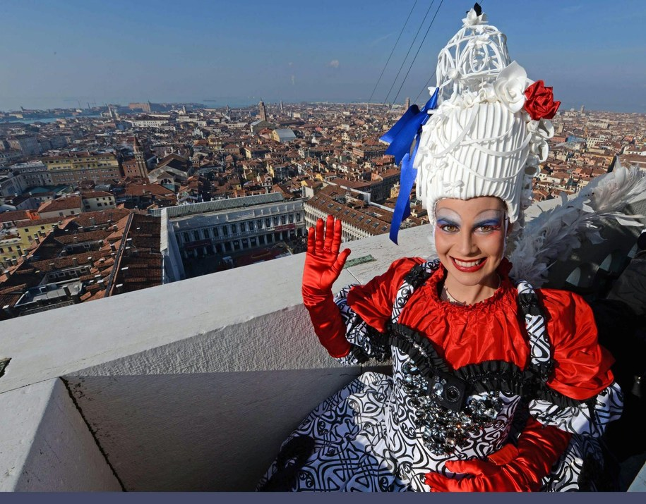 Elisa Costantini /VENICE CARNIVAL PRESS OFFICE  /PAP/EPA