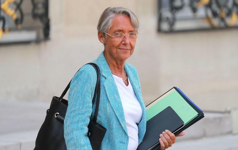 Elisabeth Borne, minister pracy Francji /AFP