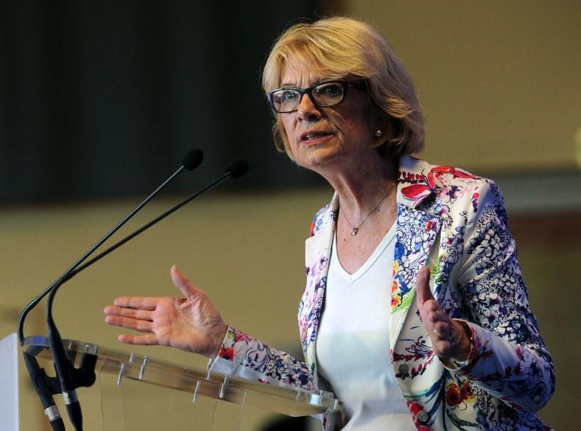 Elisabeth Morin-Chartier wyraziła zadowolenia z decyzji lyońskiego sądu /JEAN-FRANCOIS MONIER /AFP