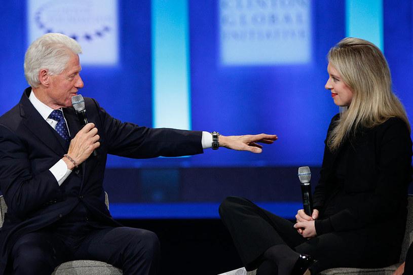 Elizabeth Holmes wspierał również prezydent Bill Clinton (2015) /JP Yim /Getty Images