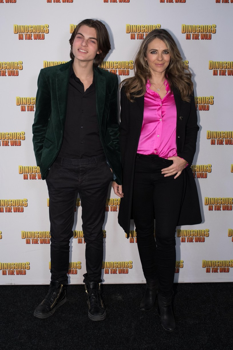 Elizabeth Hurley i jej syn Damian /East News