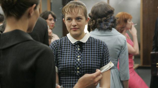 "Elizabeth Moss jako Peggy Olson w ""Mad menach"" /fot  /Sundance Channel."