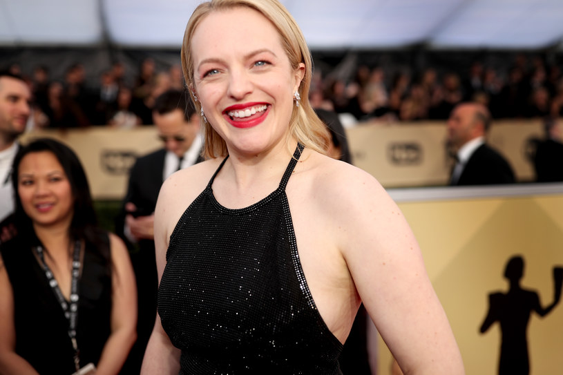 Elizabeth Moss na gali SAG Awards 2018 /Getty Images