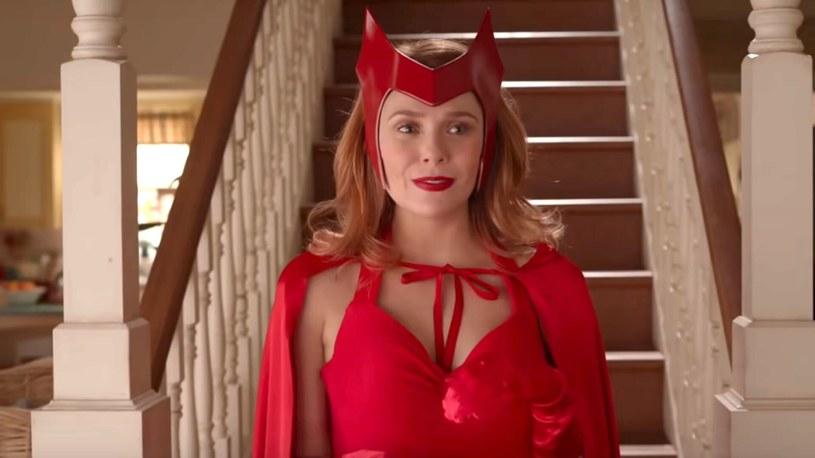 Elizabeth Olsen ponownie wcieli się w Wandę Maximoff / Scarlett Witch /materiały prasowe