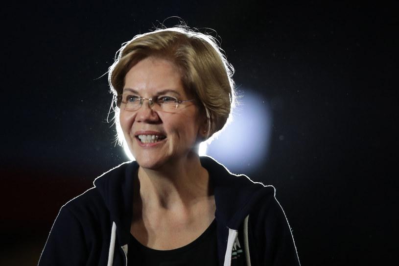 Elizabeth Warren ubiega się o prezydencką nominację Partii Demokratycznej /AFP