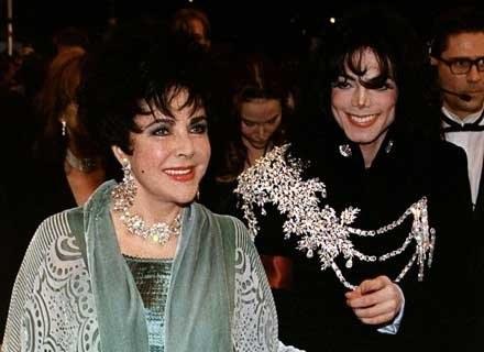 Elizabeth z Michaelem Jacksonem /AFP
