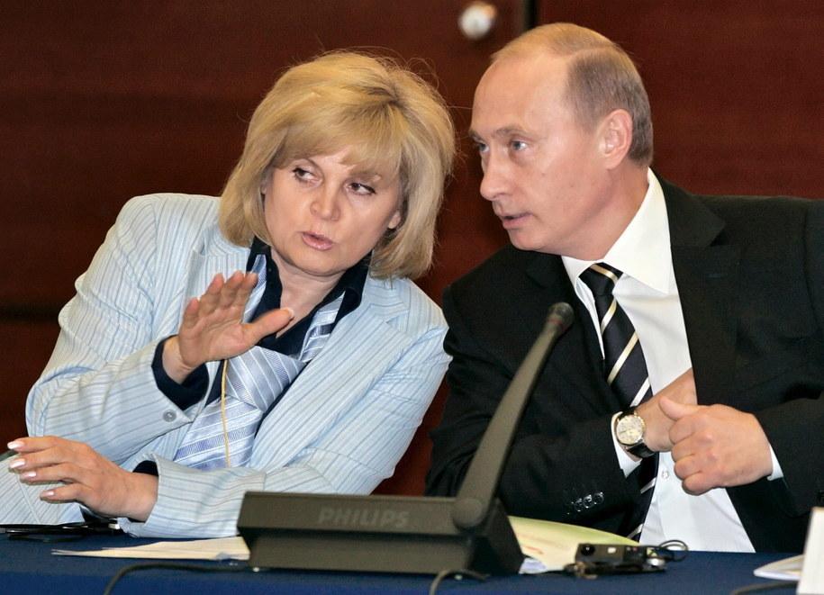 Ełła Pamfiłowa została zaatakowana paralizatorem we własnym domu /Astakhov Dmitry /PAP/EPA