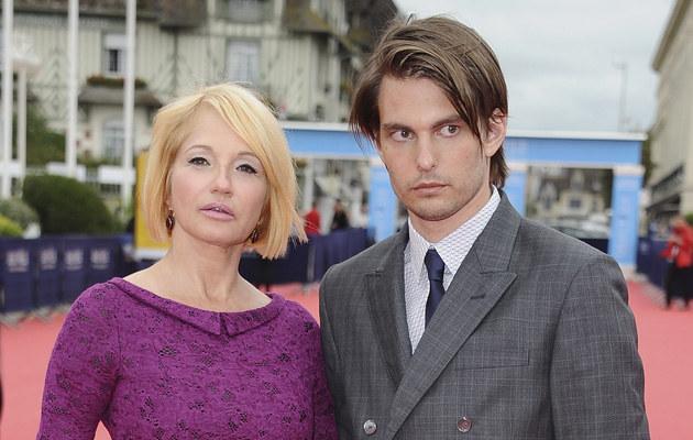 Ellen Barkin i Sam Levinson, fot.Francois Durand  /Getty Images/Flash Press Media