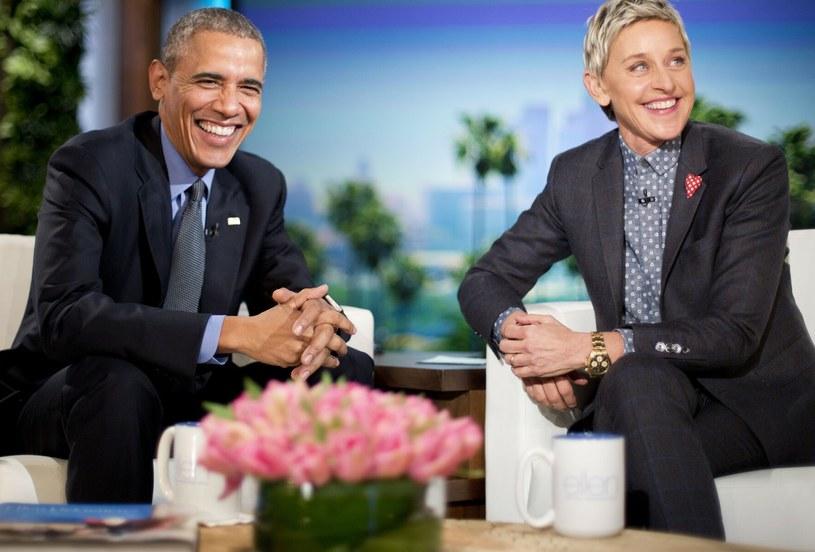 Ellen DeGeneres i Barack Obama /AP/EAST NEWS /East News