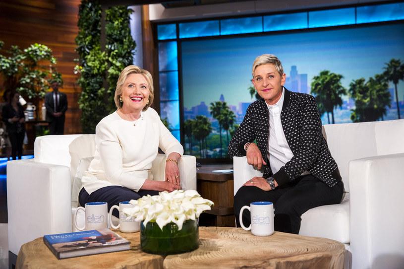 Ellen DeGeneres i Hillary Clinton /Contributor /Getty Images