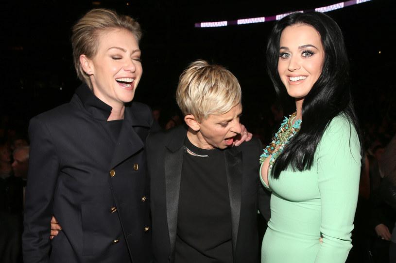 Ellen DeGeneres i Katy Perry /Christopher Polk /Getty Images