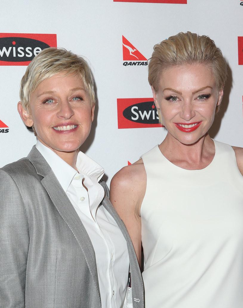 Ellen DeGeneres i Portia de Rossi przechodziły ostatnio kryzys /Scott Barbour /Getty Images