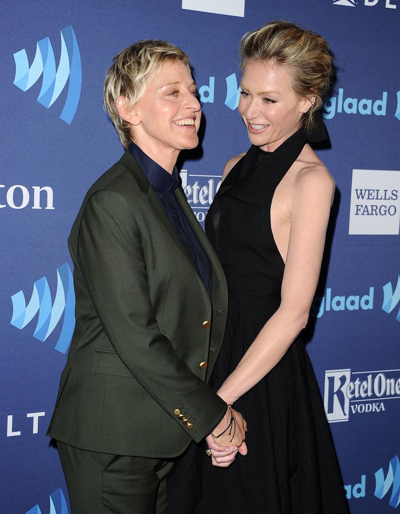 Ellen DeGeneres i Portia de Rossi są od lat nierozłączne /Jason LaVeris/FilmMagic /Getty Images