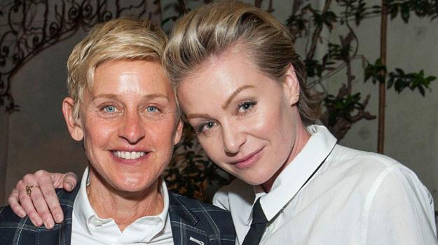 Ellen DeGeneres i Portia de Rossi /Valerie Macon /Getty Images