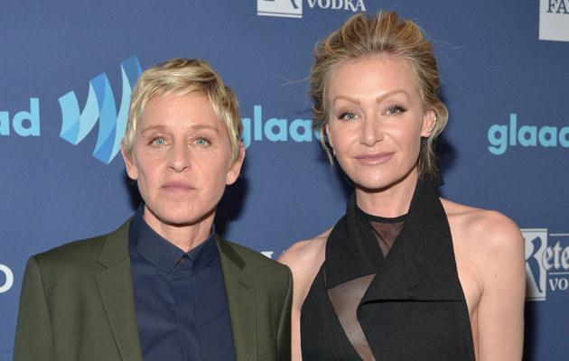 Ellen DeGeneres i Portia De Rossi /Charley Gallay /Getty Images