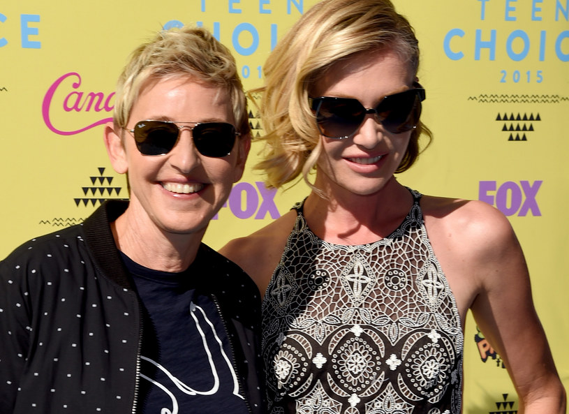 Ellen DeGeneres i Portia De Rossi /Getty Images