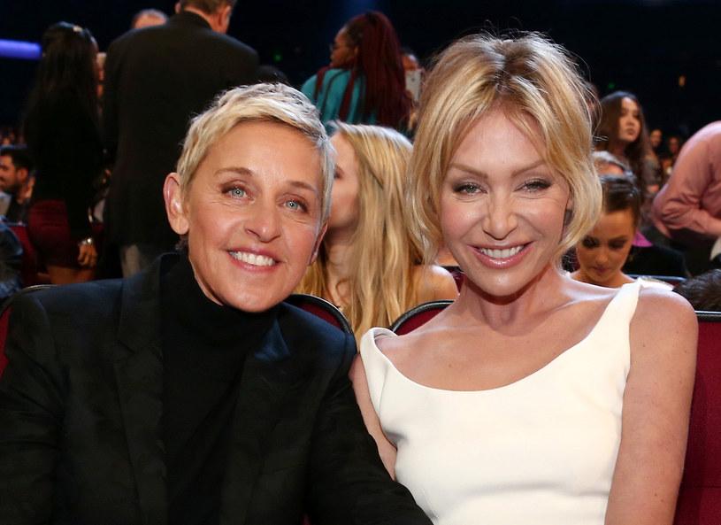 Ellen deGeneres i Portia de Rossi /123RF/PICSEL