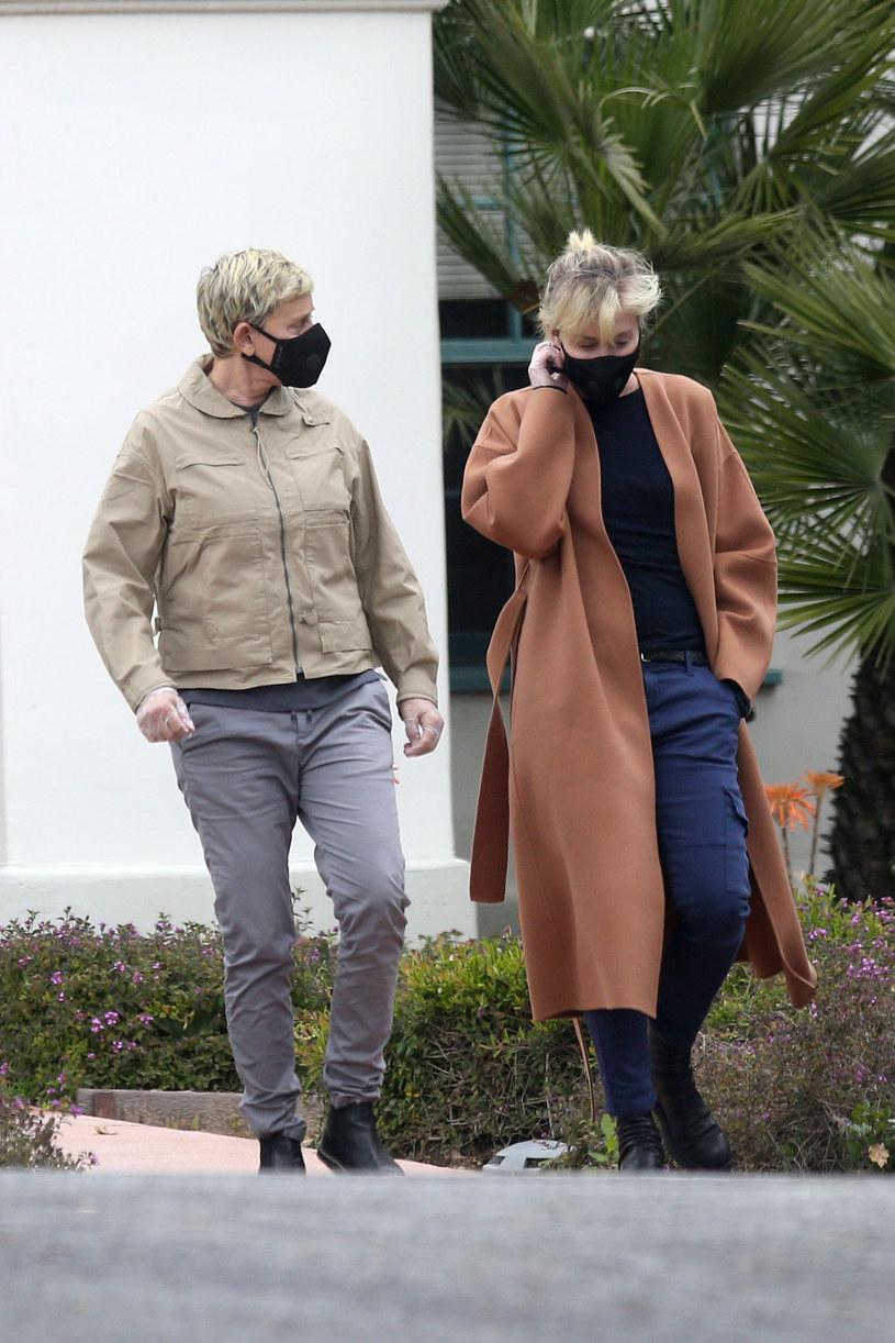 Ellen DeGeneres i Portia de Rossi /East News