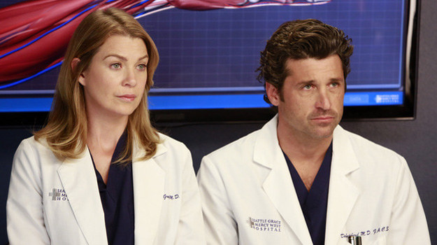 """Ellen Pompeo i Patrick Dempsey w ostatnim odcinku 9. serii """"Chirurgów"""" /ABC /materiały prasowe"""