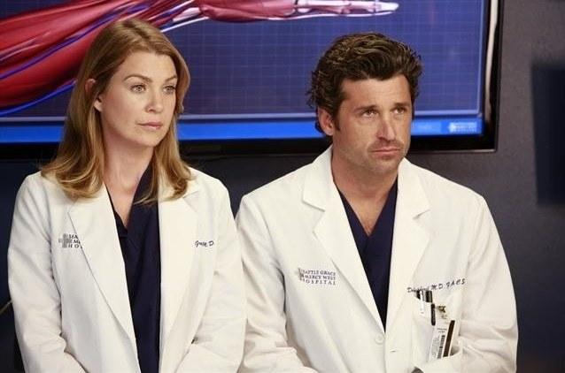 Ellen Pompeo (Meredith Grey) i Patrick Dempsey (Derek Shepherd) /ABC/ Ron Tom /materiały prasowe
