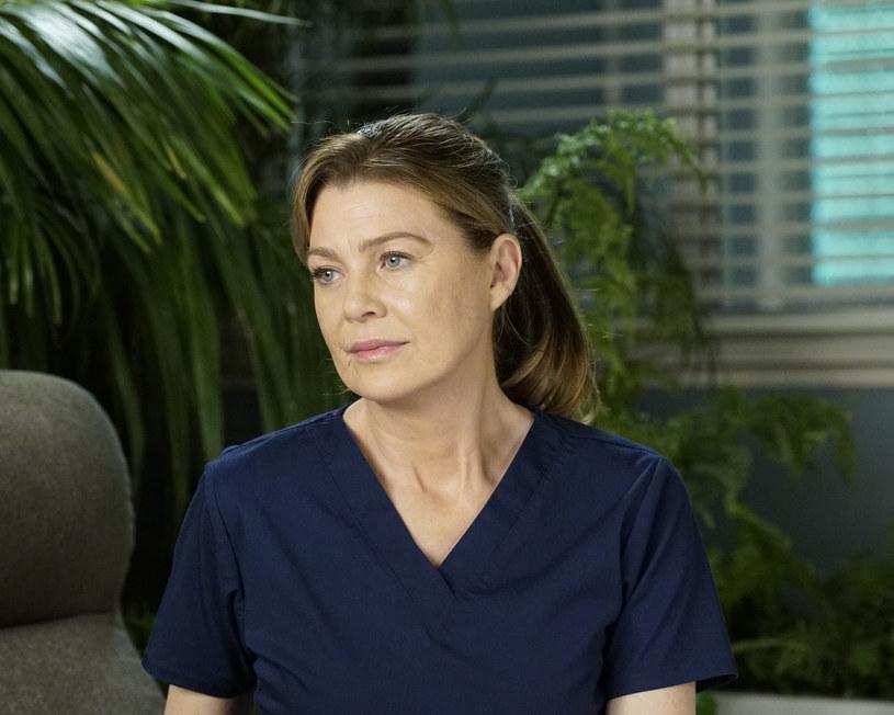 "Ellen Pompeo na planie ""Chirurgów"" /Kelsey McNeal  /Getty Images"