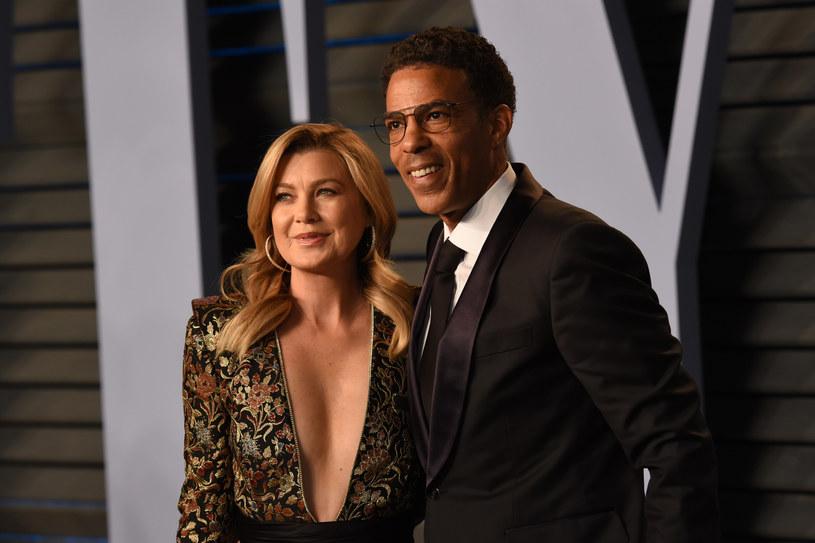 Ellen Pompeo z mężem Chrisem Iverym /Presley Ann/Patrick McMullan  /Getty Images