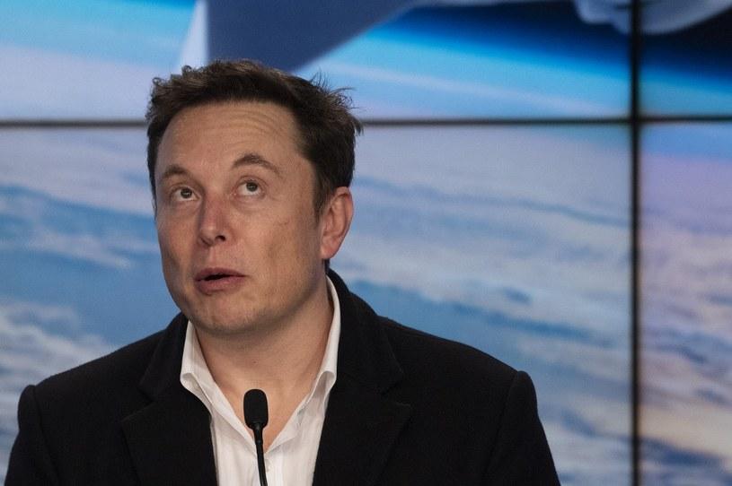 Elon Musk stał się najbardziej rozpoznawaną osobistością świata technologii /AFP