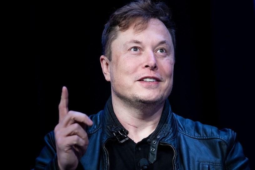 Elon Musk (Tesla), najbogatszy teraz człowiek świata /AFP