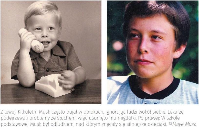 Elon Musk w dzieciństwie. Zdjęcia z domowego archiwum /materiały prasowe
