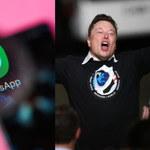 Elon Musk: Zamiast z WhatsAppa, korzystajcie z tego komunikatora