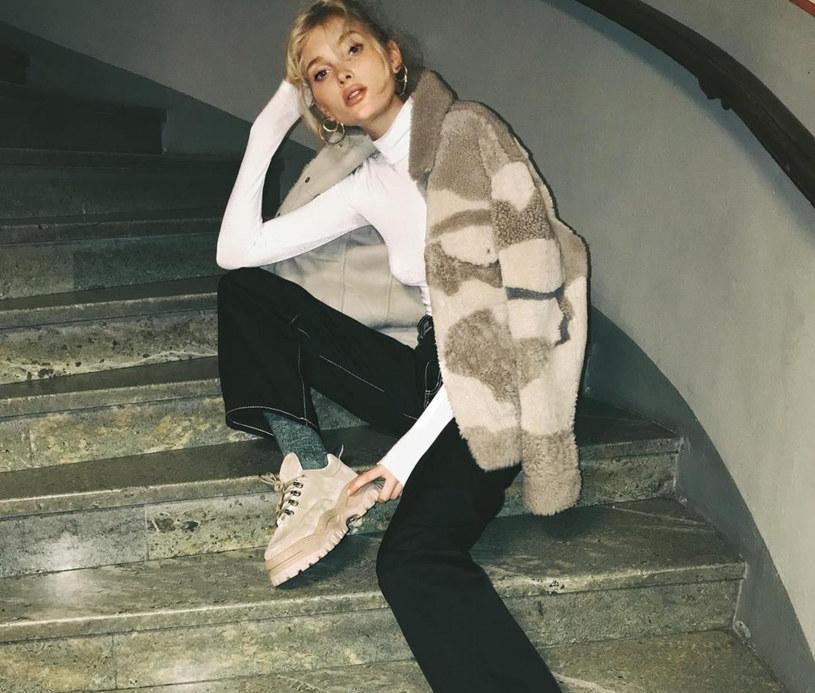 Elsa Hosk w najmodniejszych butach sezonu /East News