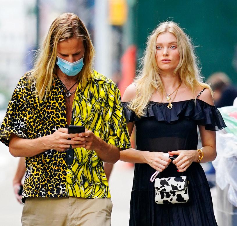 Elsa Hosk z Tomem Daly, z którym spotyka się od pięciu lat /Jackson Lee / SplashNews.com /East News