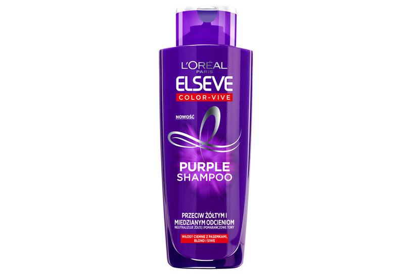 Elseve Color Vive: Purple Shampoo /materiały prasowe