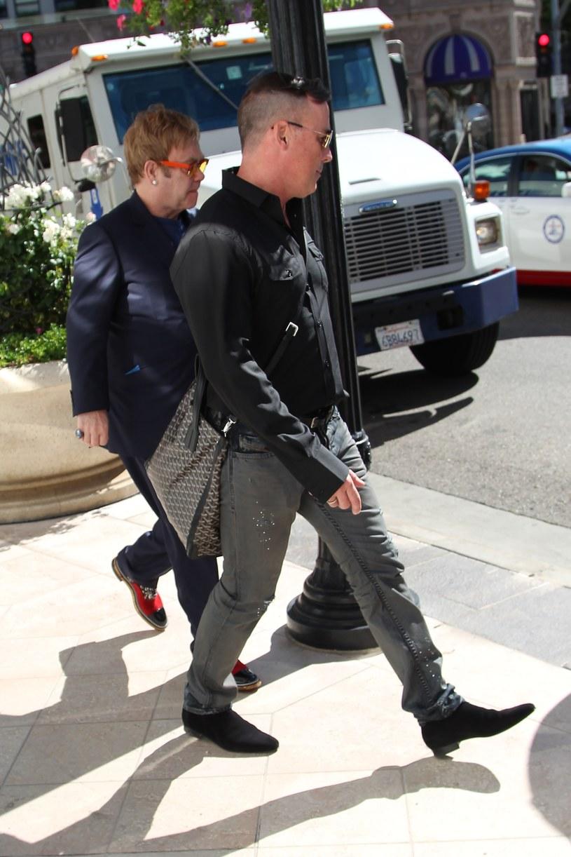 Elton John, David Furnish /Splashnews