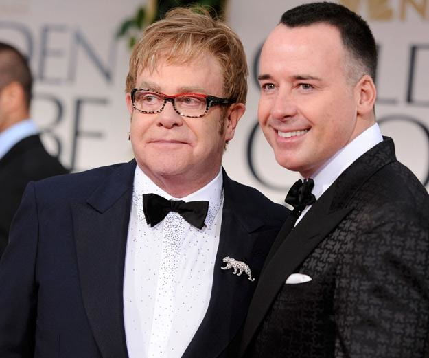 Elton John i David Furnish chcą chronić Zachary'ego - fot. Frazer Harrison /Getty Images/Flash Press Media