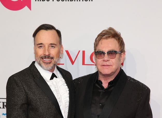 Elton John i David Furnish - fot. Neilson Barnard /Getty Images