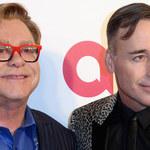 Elton John i David Furnish musieli odwołać ślub!