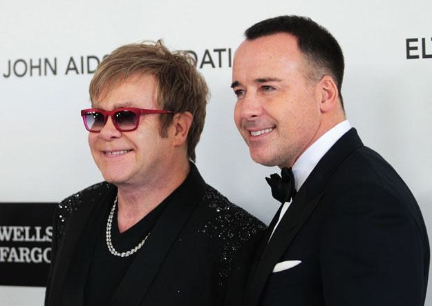 Elton John i David Furnish nie chcą mieć jedynaka fot. Frederick M. Brown /Getty Images/Flash Press Media