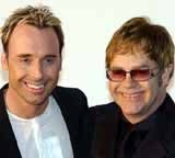 Elton John i David Furnish /Archiwum
