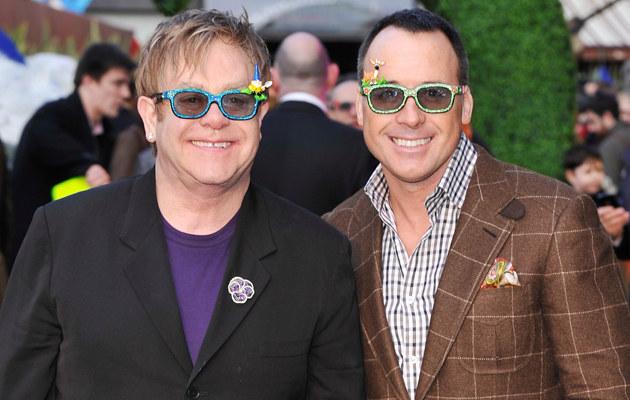 Elton John i David Furnish /Gareth Cattermole /Getty Images