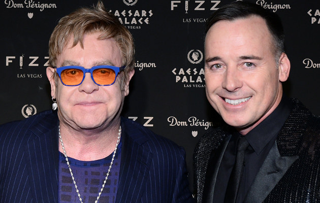 Elton John i David Furnish /Ethan Miller /Getty Images