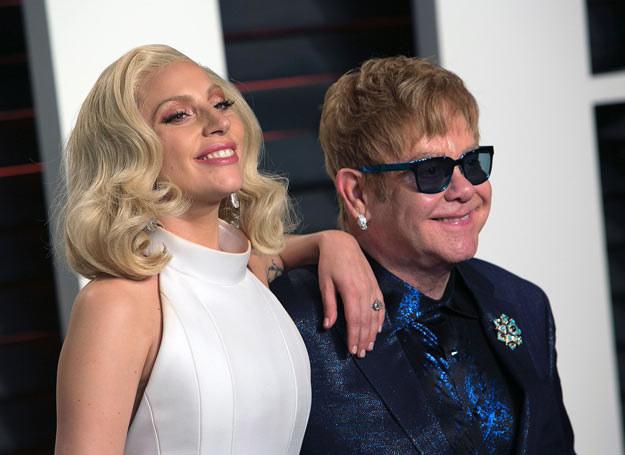 Elton John i Lady Gaga /ADRIAN SANCHEZ-GONZALEZ /East News