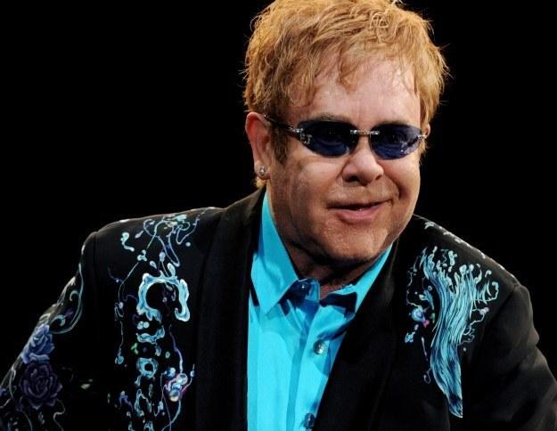 Elton John otrzyma Medal Wdzięczności od Europejskiego Centrum Solidarności fot. Kevin Winter /Getty Images/Flash Press Media