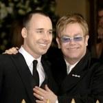 Elton John po ślubie