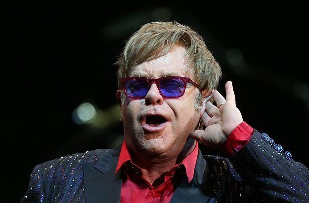 Elton John zlekceważył chińską publiczność? fot. Mark Metcalfe /Getty Images/Flash Press Media
