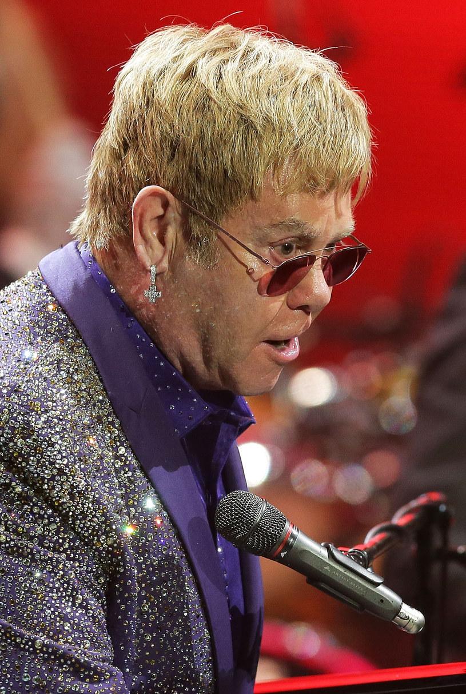 Elton John /Mark Metcalfe /Getty Images